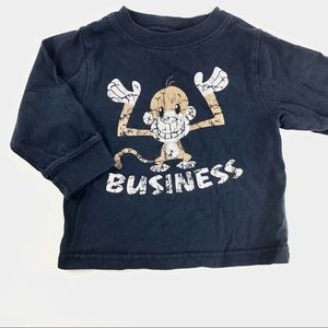 """🌟4/$15🌟 The children's place """" monkey business"""""""